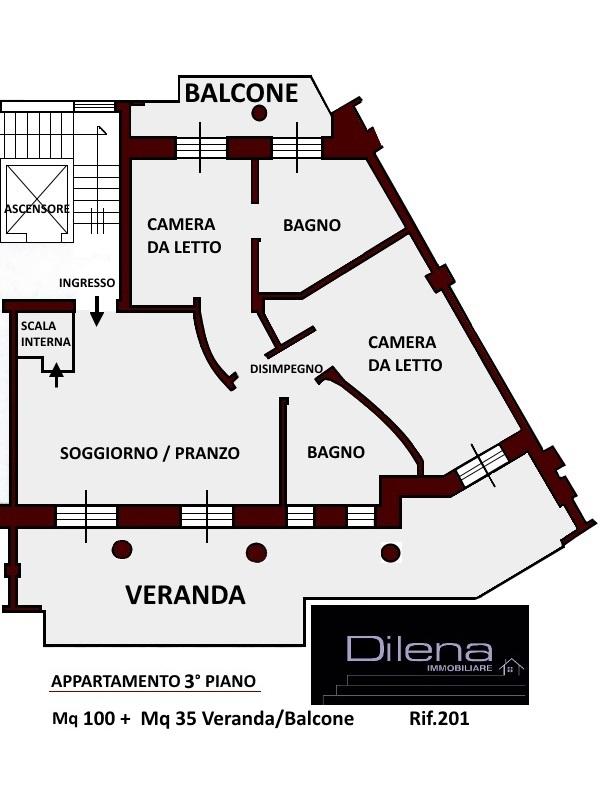 appartamento 3° piano