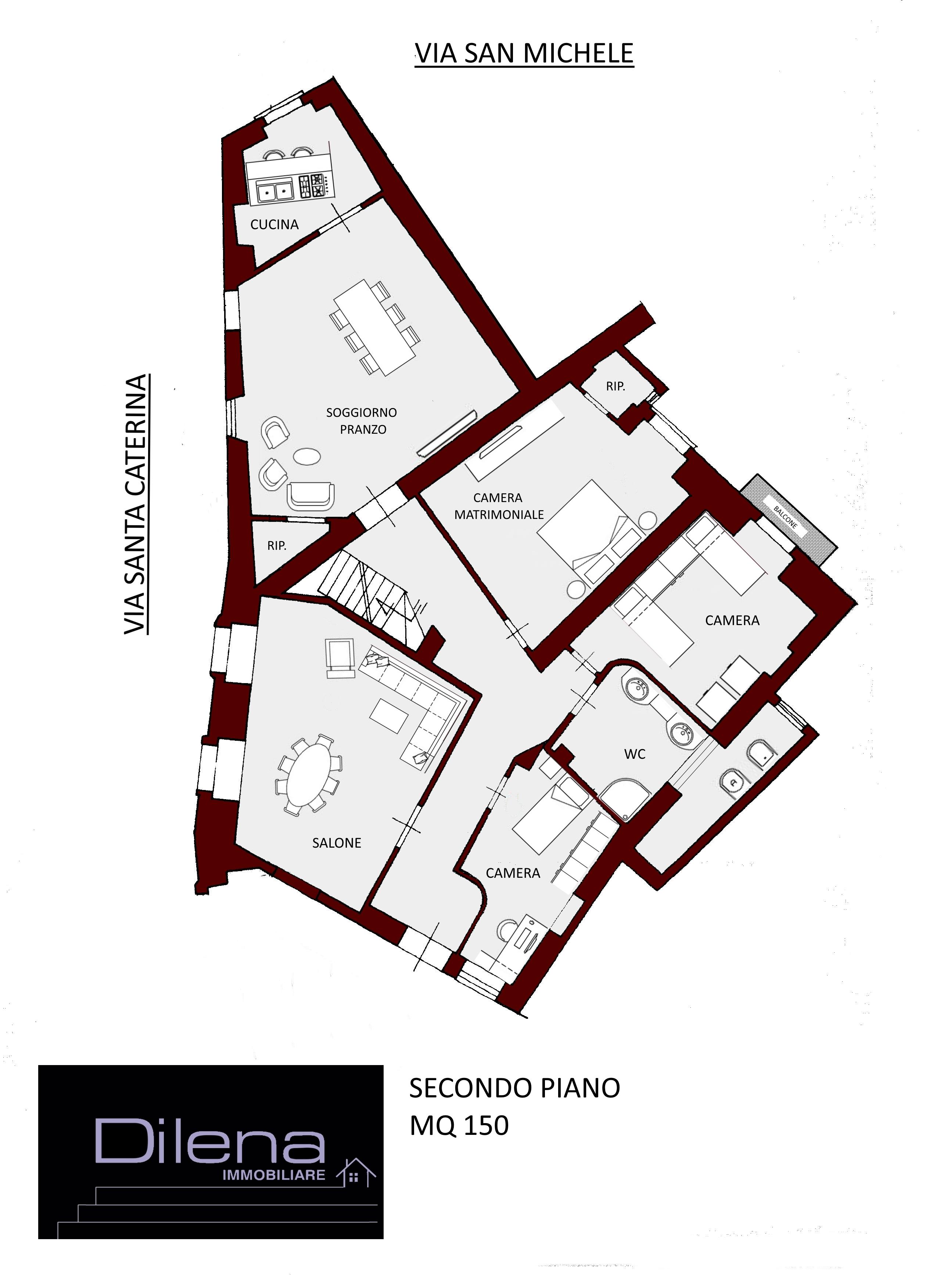 planimetria II piano